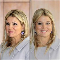 De oorbellen van koningin Máxima - deel 3 | ModekoninginMaxima.nlnieuwjaars ontvangst 2013.