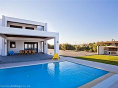 3 bedroom villa in Rhodes to rent from pw, with a private pool. Also with jacuzzi, balcony/terrace, air con, TV and DVD. Rent A Villa, Big Bedrooms, Villa With Private Pool, Vacation Villas, Vacations, Beach Villa, Beautiful Villas, Rental Property, Luxury Villa