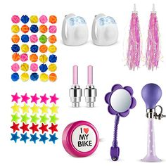 Cute Kids Bike Boys Girl/'s Bicycle Doll Bells,Toddler Bike Parts Horn Accessory