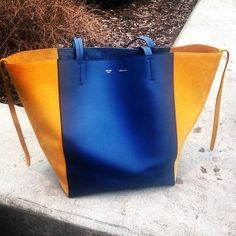 Celine Tote Celine tote bag, 100% Authentic. Looking to see if anyone I interested, I've had it for a year and it's been my go too. Is a little dirty, since the yellow is a lighter color so denim easily rubs off. Trying to see if it's worth selling- let me know if you have any questions! I'm open to offers as long as reasonable. I understand the condition, please keep in mind the retail. Thanks! Celine Bags Totes