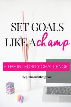 Set Goals Like A Cha
