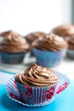 Chocolate Cupcakes with Chocolate Cream Cheese Frosting - Erren's Kitchen -  Super moist and rich cupcakes with a creamy decadent cream cheese frosting that you'll you'll adore and make again and again! www.errenskitchen.com