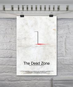 The Dead Zone // Vintage Inspired Horror Movie Poster by TheGeekerie, $18.00