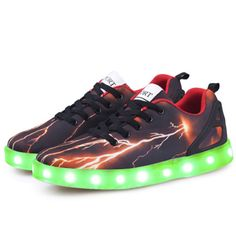 Aliexpress.com : Buy 2017New LED man stefan janoski shoes red flash colorful tenis masculino esportivo lights man glowing basket femme nmd shoes man  from Reliable shoe usb suppliers on LEDShoesTOP Store