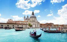 Голубой Гранд канал, Венеция. #Travel with #SwissHalley