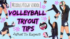 Middle/High School Volleyball Tryout Tips +What to Expect! || reuploading all of my videos to a new board (: link to my channel is in the description box