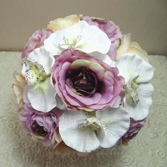 Wedding Flowers - $19.99 - Fascinating Hand-tied Cloth Bridal Bouquets (123047077) http://jjshouse.com/Fascinating-Hand-Tied-Cloth-Bridal-Bouquets-123047077-g47077