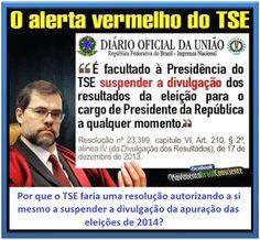 Almir Quites: A INACEITAVEL APURAÇÃO ELEITORAL BRASILEIRA http://almirquites.blogspot.com/2017/08/a-inaceitavel-apuracao-eleitoral.html Do ALERTA VERMELHO à CONFISSÃO da  SMARTMATIC.