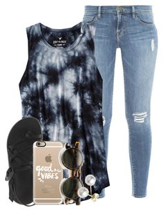 """1K!!!!"" by ellaswiftie13 ❤ liked on Polyvore featuring Frame Denim, American Eagle Outfitters, Chaco, Casetify and Mikimoto"