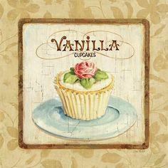 Lisa Audit vanilla cupcake