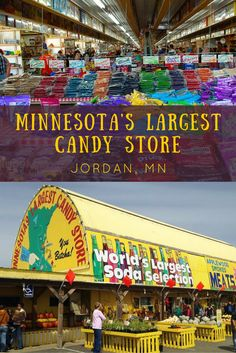Jim's Apple Farm, also known as Minnesota's Largest Candy store, is quite simply heaven on earth for candy lovers. If you love certain kind of candy, you're certain to find it here.