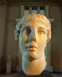 Portrait of the poetress Sappho Ancient Rome, Ancient Art, Ancient History, Roman Sculpture, Modern Sculpture, Ancient Greek Sculpture, Old Faces, People Of Interest, Historical Artifacts