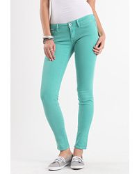 Solid Colored Skinny Jeans <3