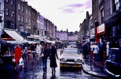 Portobello Road Market 1977