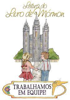Moças Estaca Itaquera: Programa de Leitura do Livro de Mórmon 2012