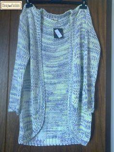 fashion and beauty ... low cost tips!:  Olá... Hoje trago-vos um casaco de malha... super...
