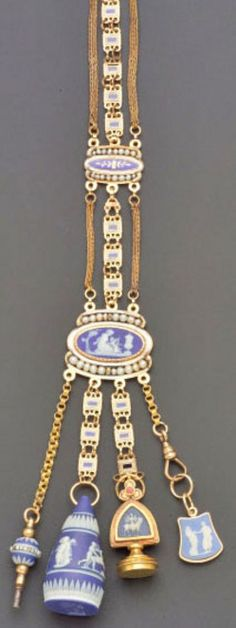 341 Best Chatelaines Images On Pinterest Antique Jewelry
