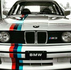 Nice BMW 2017: BMW E30 M3 white ///M stripe... Cars Check more at http://carsboard.pro/2017/2017/03/05/bmw-2017-bmw-e30-m3-white-m-stripe-cars/