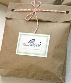 Lots of great Etsy packaging ideas! by Miriam Zeilmann