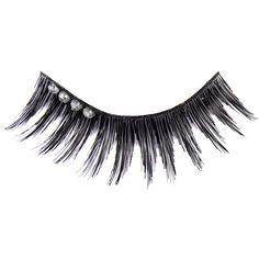 Manic Panic Glitter Glam Lashes (Diamond Girl) ($12) ❤ liked on Polyvore featuring beauty products, makeup, eye makeup, false eyelashes and manic panic