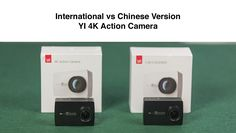 Comparing Chinese and International Version of YI Action Camera. Similar to there are 2 versions, here's how to change language. Chinese, Action, Group Action, Chinese Language