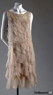 1925 Coco Chanel, Museum at FIT; 1927 Madeleine Vionnet, Metropolitan Museu
