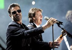 George Michael & Paul McCartney - Live 8 London in Hyde Park - July 2, 2005