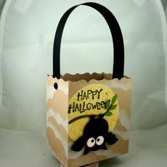 Stampin' Up!  Fancy Favor Box  Dana Newsom  Halloween