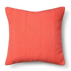 Target Room Essentials� Stitch Solid Pillow Coral