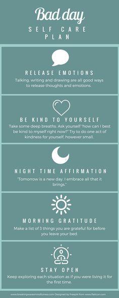 Bad day self care plan