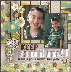 Keep Smiling (May Serendipity Kit) - Scrapbook.com