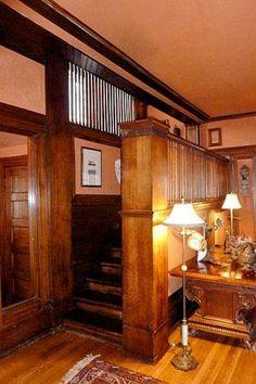 Isidore Heller House. Prairie Style. Frank Lloyd Wright. Hyde Park, Illinois. 1897