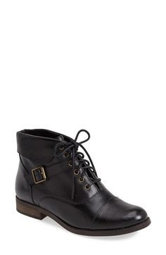 Steve Madden 'Stinnger' Leather Bootie (Women) available at #Nordstrom