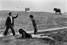 Josef Koudelka. FRANCE. Brittany, 1973. Gipsies.