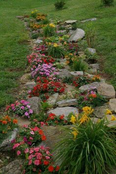 Rock garden #whimsicalgardenideas