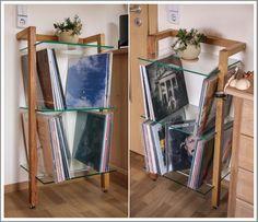 *WOODandMORE-Produkte beim Kunden*  Diesmal: das QUADRA LP-Regal aus Kirschbaum mit 3 großen, klaren ESG-Glasböden. Ideal geeignet für Schallplatten.  Vielen Dank an unseren Kunden für die schönen Fotos! Wir wünschen viel Freude an dem Regal.  https://www.woodandmore.de/19_lp-regale/quadra-holz-schallplattenregal-kirschbaum-3-glasboeden__6120.htm