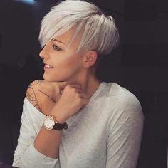Is blond iets voor jou? Na deze prachtige blonde korte kapsels gezien te hebben WEL! Wauw! - Kapsels voor haar