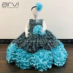 Girls Frock Design, Baby Dress Design, Kids Frocks Design, Little Girl Pageant Dresses, Little Girl Dresses, Flower Girl Dresses, Girls Dresses, Party Frock Designs, Little Girl Fashion