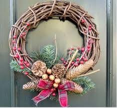 1000 images about navidad on pinterest nativity for Como hacer una corona de navidad para la puerta