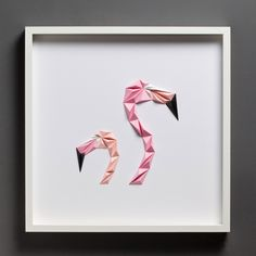 Geometric Birds and Other Designs Formed From Bright Folded Paper | Colossal