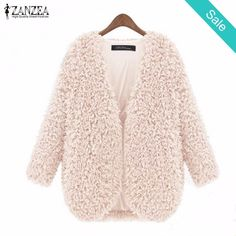 Vintage Long Sleeve Soft Warm furry Coat - Vintage Long Sleeve Soft Warm furry CoatDecoration: PocketsSleeve Length: FullClothing Length: RegularCollar: V-NeckClosure Type: Open StitchSleeve Style: RegularHooded: No - On Sale for $32.00 (was $47.64)