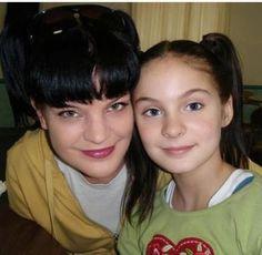 "NCIS Season 10 Episode 13 - ""Hit and Run"" ~ Pauley (Abby) and Brighton Sharbino (Mini Abby)!"