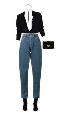 """#54G Minimal"" by lsaroskyl ❤ liked on Polyvore featuring Christian Louboutin and Miu Miu"