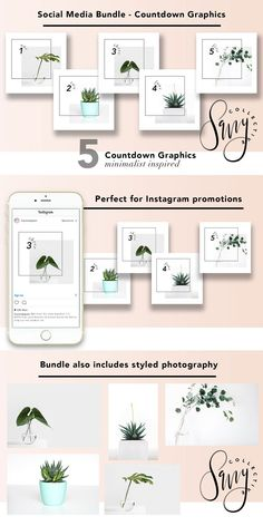Social Media Bundle - Countdown by Savvy Collective Creative on @creativemarket  -- FREE UNTIL SUNDAY, 06/25/2017.