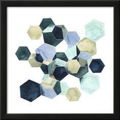 Crystallize I Art Print by Grace Popp at Art.com