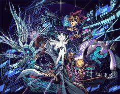 Yu-Gi-Oh! The Dark Side of Dimensions Image - Zerochan Anime Image Board Original Wallpaper, Hd Wallpaper, The Magicians, Yugioh Dragons, Dark Side Of Dimensions, Yugioh Monsters, Character Wallpaper, White Dragon, Fantastic Art