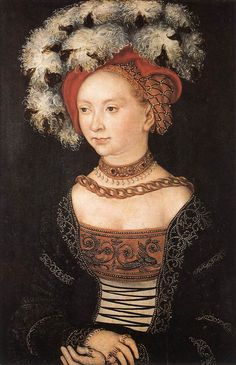 Lucas Cranach the Elder- Portrait of a Young Woman- 153o