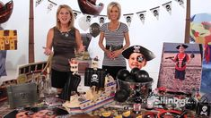 #PirateParty Ideas & #BirthdayParty Ideas  from Shindigz! How many ideas can you find in this video?