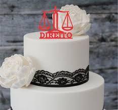 Resultado de imagem para decoração de mesa para formatura de direito
