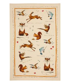 Look what I found on #zulily! Country Life Tea Towel #zulilyfinds